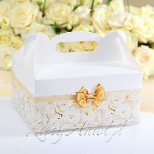 pudełko na ciasto pierwsza komunia
