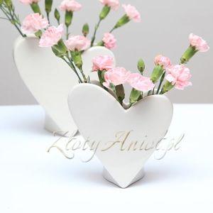 WAZON SERCE do kwiatowych kompozycji Mały