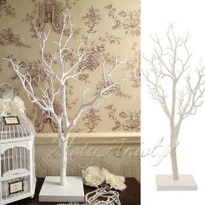 DRZEWO dekoracyjne białe dekoracje komunijne okazja