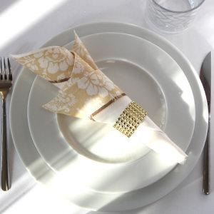 serwetnik-złoty